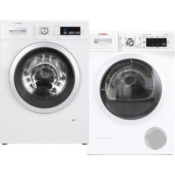 Bosch WAW32542NL + Bosch WTW87561NL